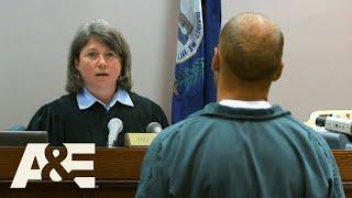Court Cam: Man SPITS on Judge, Then Starts Jail Riot | A&E Screenshot