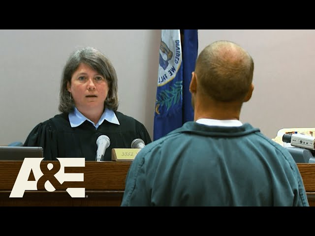 Court Cam: Man SPITS on Judge, Then Starts Jail Riot A&E HQ quality image