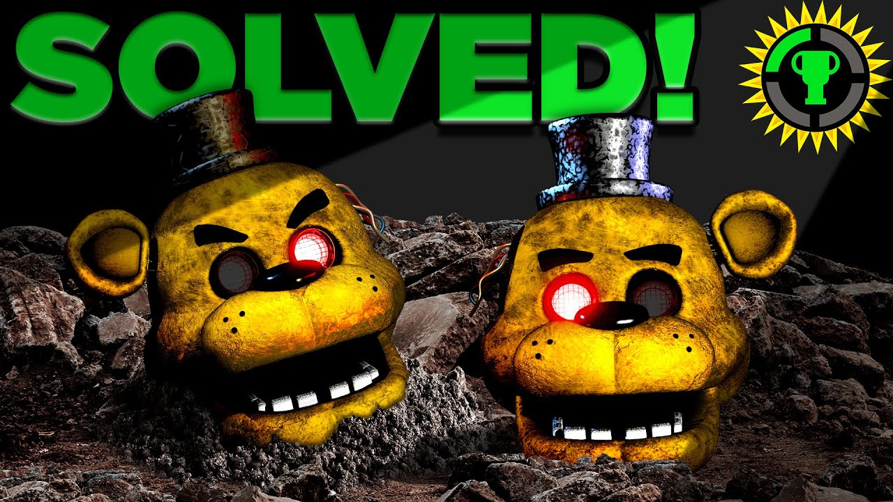 Game Theory: FNAF, We Solved Golden Freddy! (Five Nights At Freddy's) HD quality image