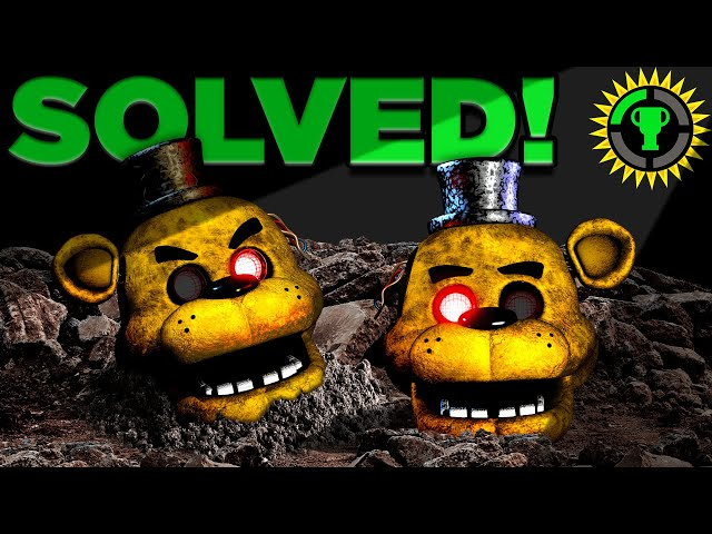 Game Theory: FNAF, We Solved Golden Freddy! (Five Nights At Freddy's) HQ quality image