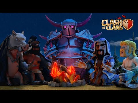 Lunar New Year Storytime! EXCLUSIVE Warrior Queen skin (Clash of Clans) MQ quality image