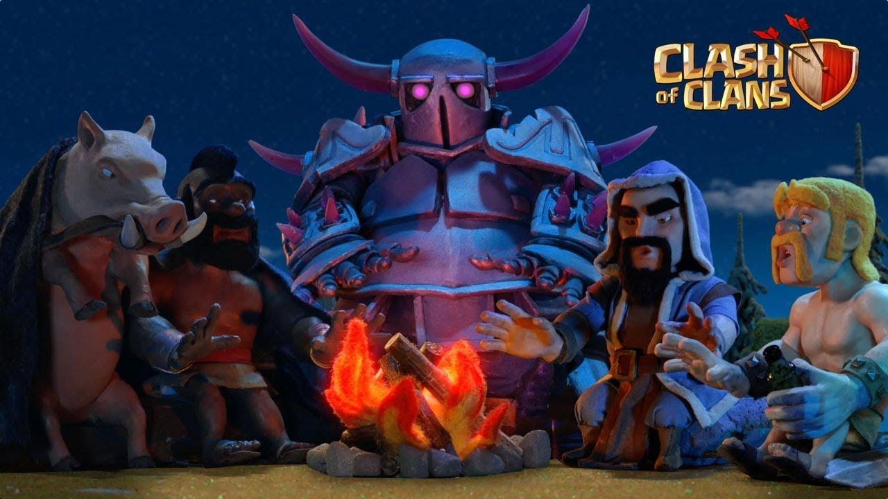 Lunar New Year Storytime! EXCLUSIVE Warrior Queen skin (Clash of Clans) HD quality image