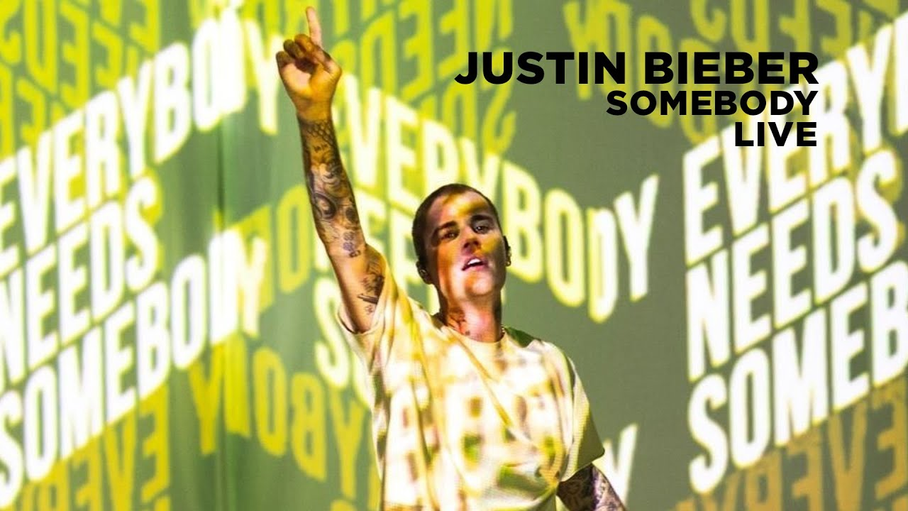 Justin Bieber performs Somebody Juno Awards 2021 HD quality image