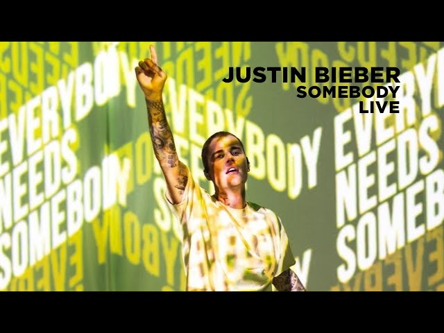 Justin Bieber performs Somebody Juno Awards 2021 HQ quality image