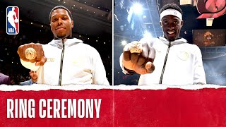 Toronto Raptors Championship Ring Ceremony October 22, 2019 MD quality image
