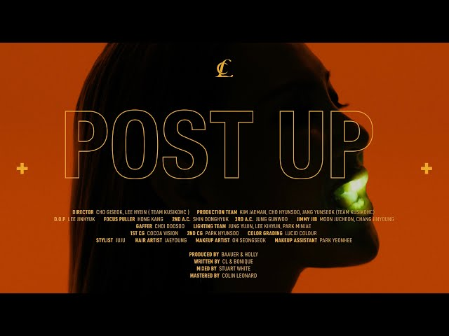 CL +POST UP+ Official Intro Video HQ quality image