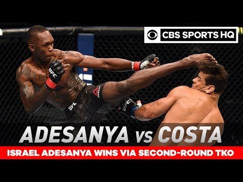 Israel Adesanya vs Paulo Costa: Adesanya retains title with TKO win UFC 253 Recap CBS Sports HQ MQ quality image