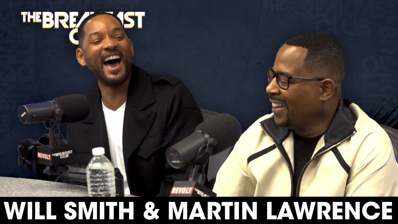 Will Smith & Martin Lawrence Talk Bad Boys Trilogy, Growth, Regrets + More HD quality image