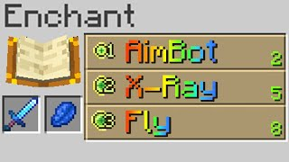 Minecraft, But Hacks Are Enchantments MD quality image