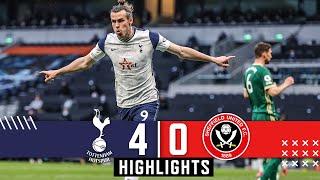 Tottenham Hotspur 4-0 Sheffield Utd Premier League highlights Gareth Bale Hat Trick downs Blades MD quality image