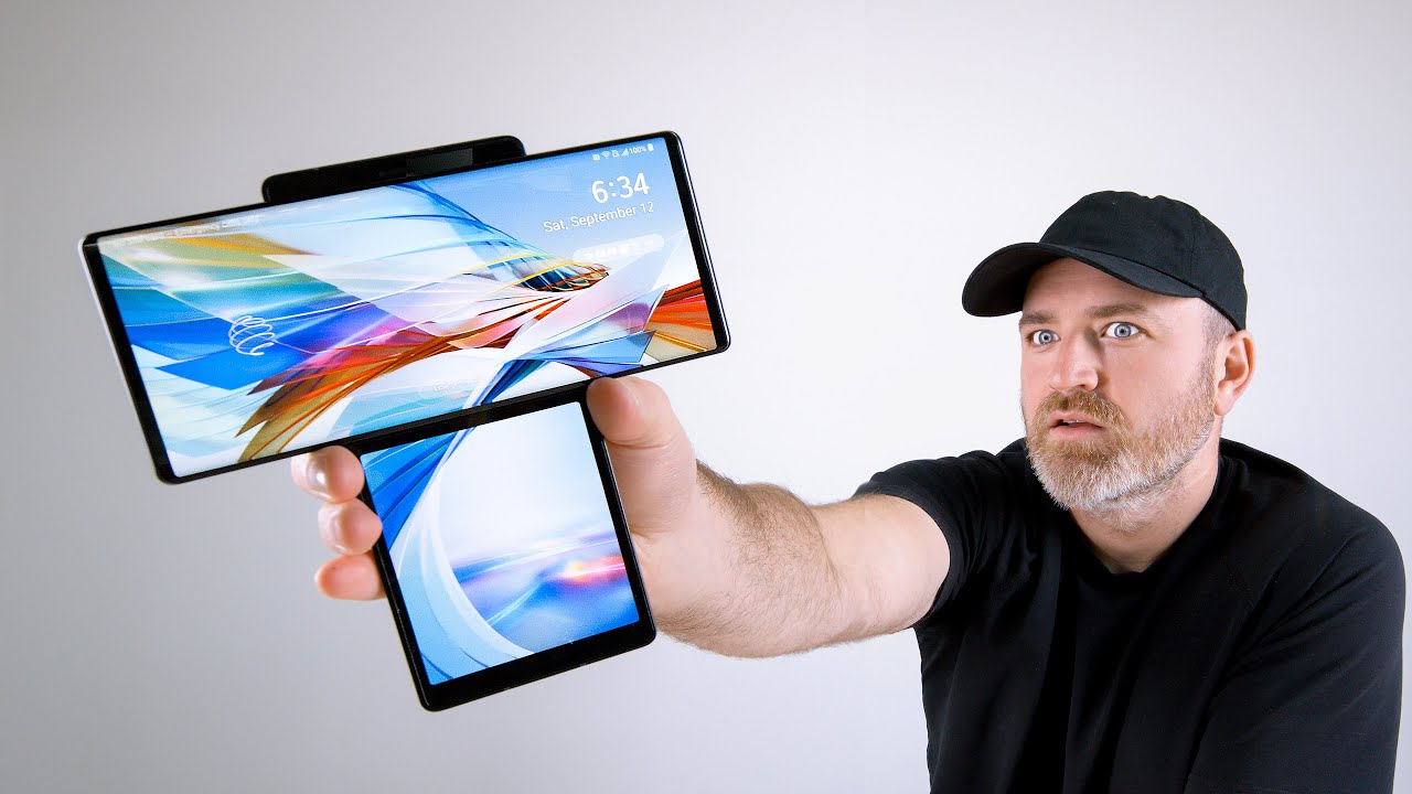 LG Wing Unboxing - This Thing is WILD HD quality image