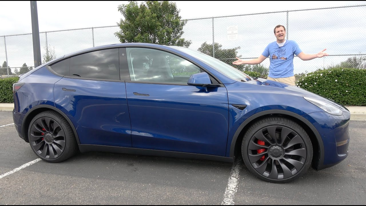 The Tesla Model Y Is the Tesla Everyone Is Waiting For HD quality image
