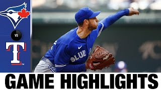 Blue Jays vs. Rangers Game Highlights (4/5/21) MLB Highlights MD quality image
