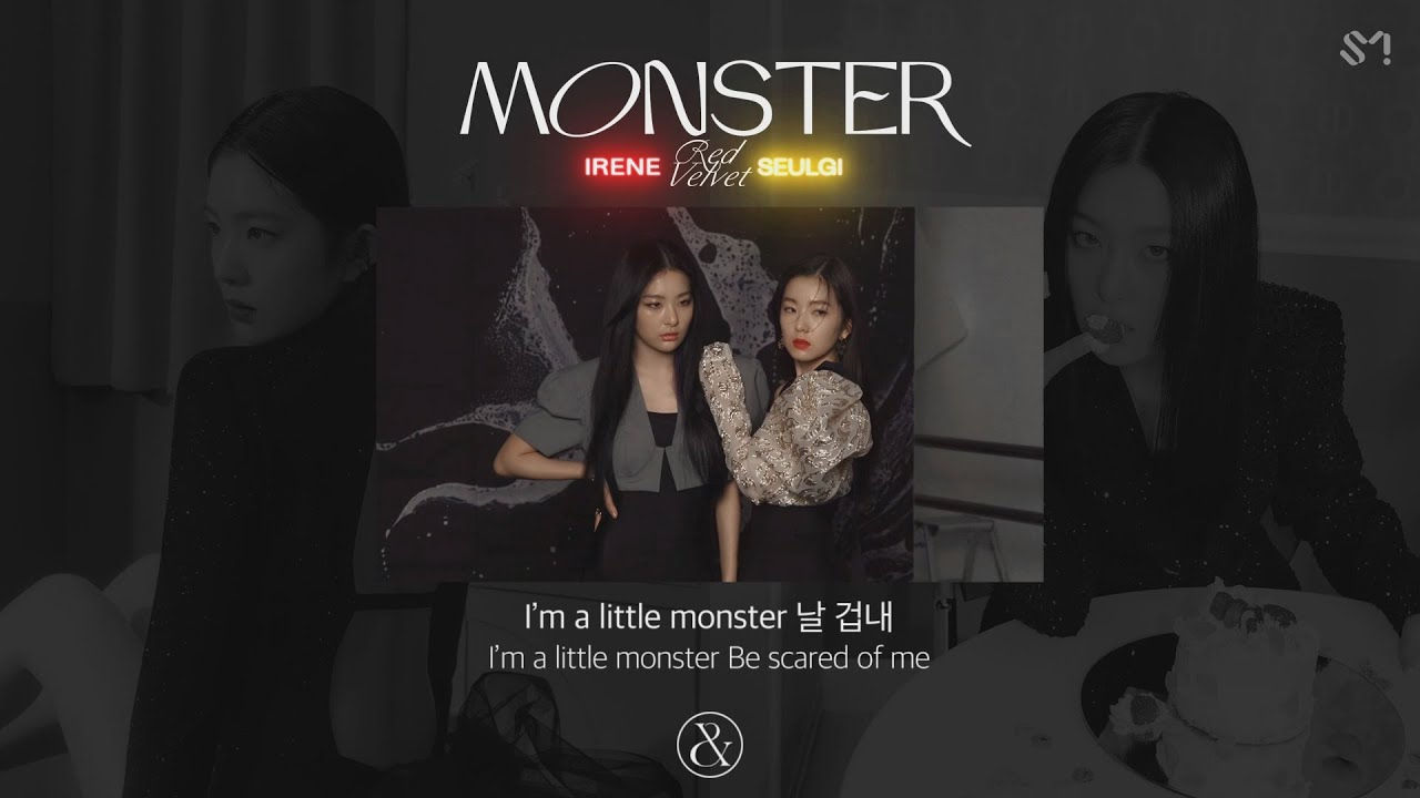 Red Velvet - IRENE & SEULGI 'Monster' Official Lyrics Eng HD quality image