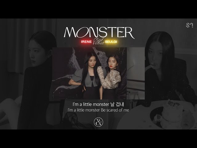 Red Velvet - IRENE & SEULGI 'Monster' Official Lyrics Eng HQ quality image