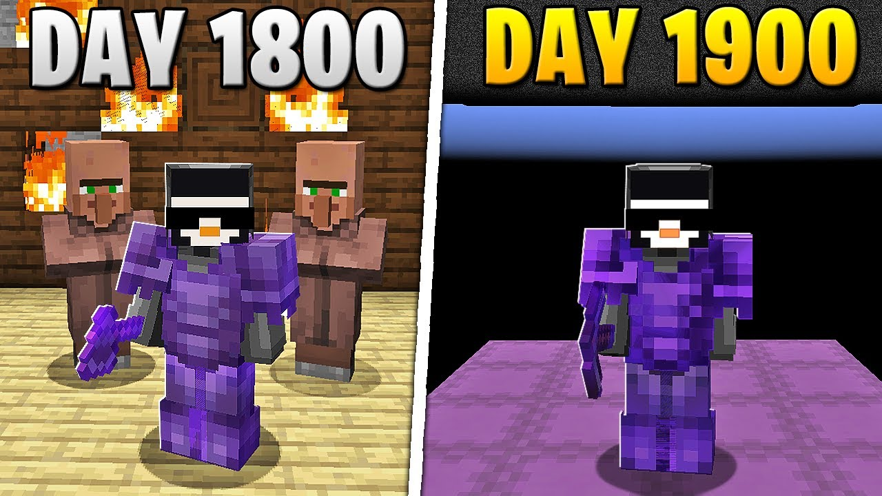 I Survived 1,900 Days in HARDCORE Minecraft... HD quality image