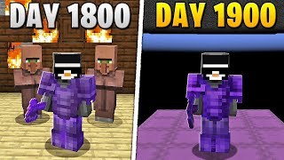 I Survived 1,900 Days in HARDCORE Minecraft... MD quality image