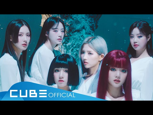 ()((G)I-DLE) - '()(HWAA)' Official Music Video HQ quality image