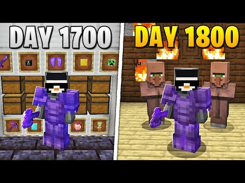 I Survived 1,800 Days in HARDCORE Minecraft... MQ quality image
