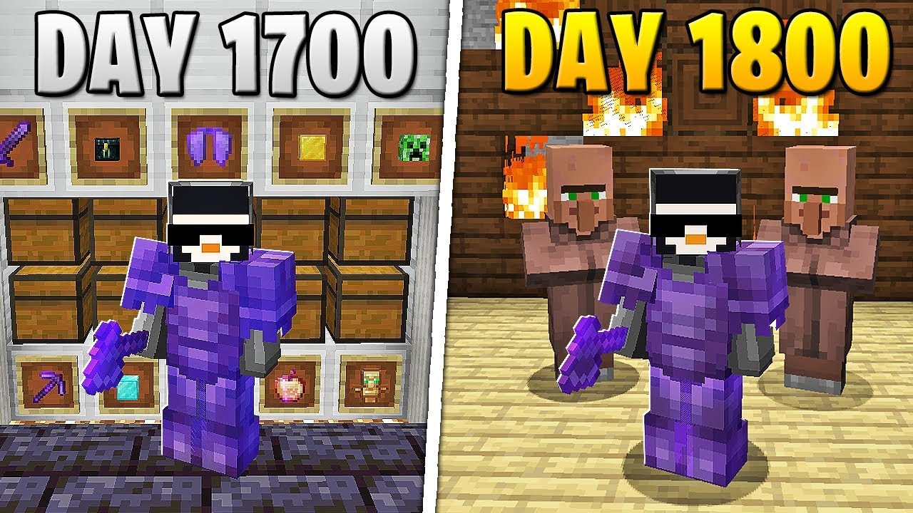 I Survived 1,800 Days in HARDCORE Minecraft... HD quality image