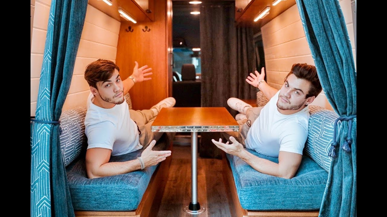 VAN TOUR Custom Built For Twins To Live In HD quality image