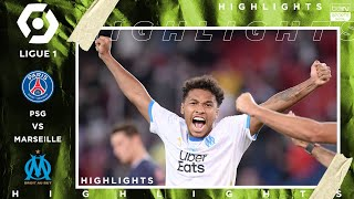 PSG 0 - 1 Marseille (Le Classique) - HIGHLIGHTS & GOAL - 9/13/20 MD quality image