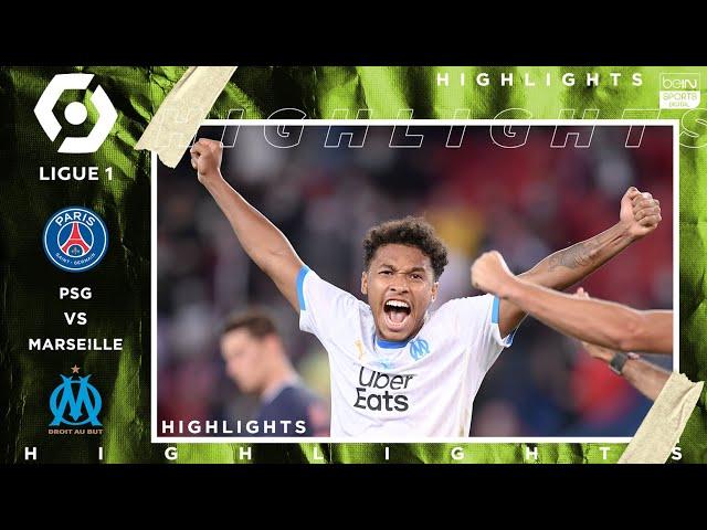 PSG 0 - 1 Marseille (Le Classique) - HIGHLIGHTS & GOAL - 9/13/20 HQ quality image